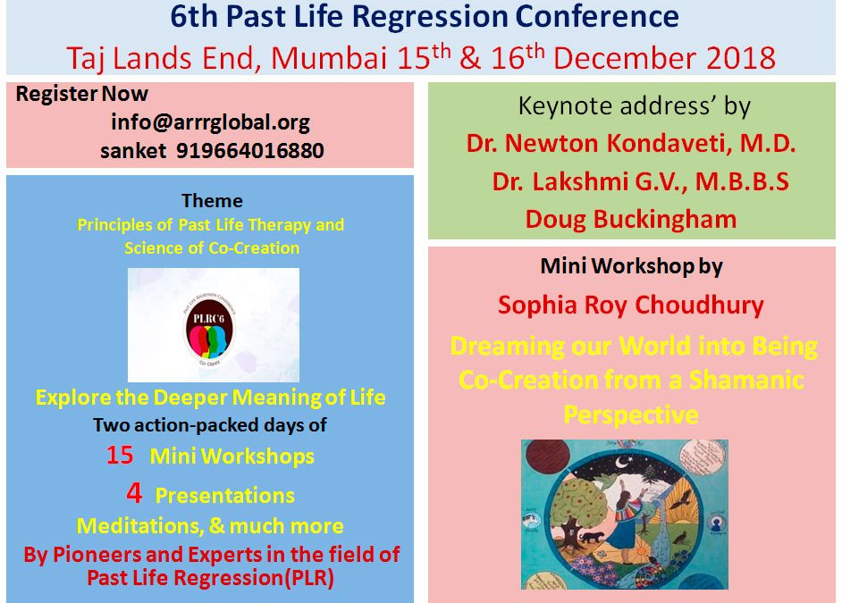 6th Past Life Regression Conference